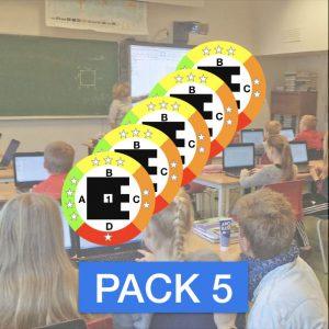 PlickMagnet Pack 5