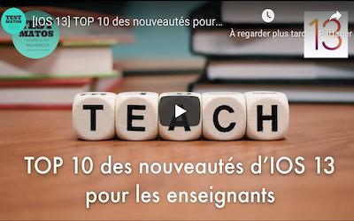 ios13 TOP10 nouveautés