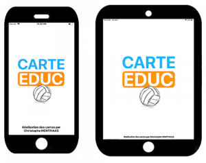 CartEduc VolleyBalle - iPad et iPhone